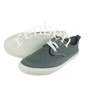 New Design Men′s Canvas Casual Shoes pictures & photos