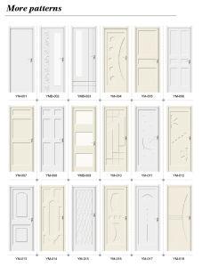 Eco-Friendly Anti-Termite Toilet Bedroom Hotel Door (YM-056) pictures & photos