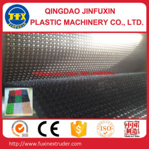 Plastic LDPE Artifical Grass Door Mat Making Machine pictures & photos