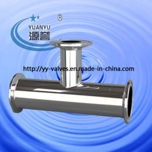 Hygenic Reducing Ferrule Tee (3A, DIN, SMS, ISO) pictures & photos