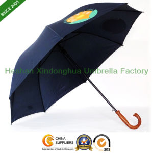 Fiberglass Golf Promotional Umbrellas with Customized Logo (GOL-0027BFC) pictures & photos