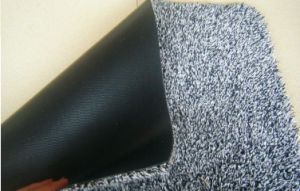 Cotton and Microfiber Door Mat/Cotton Mat/Rugs (CM009) pictures & photos