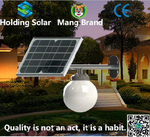 IP65 Energy Saving LED Solar Moon Lamps for Outdoor pictures & photos
