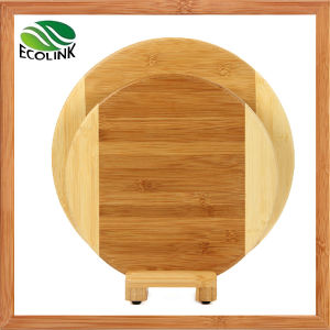 Round Shape Bamboo Chopping Board pictures & photos