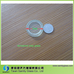 5mm Minisize Round Tempered Step Glass Covers for LED Lighting pictures & photos