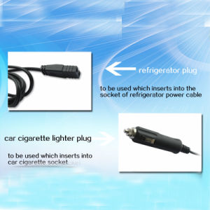 American Style 12V/24V High Power Car Cigarette Lighter Plug Wire for Car Refrigerator pictures & photos
