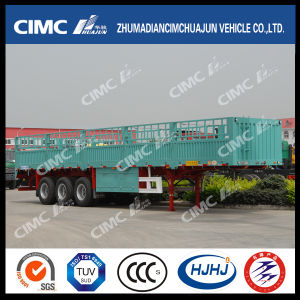 3 Axle Stake/Cargo/Fence Twist Locks Carrying Container Semi Truck Trailer pictures & photos