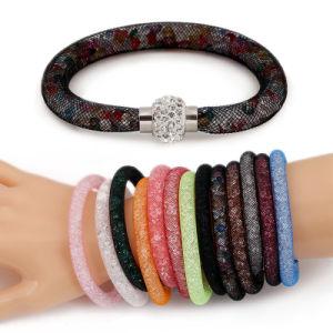 Fashion Crystal Mesh Magnetic Stardust Bracelet, Hot Sale Bracelets