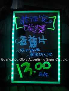 LED Re-Writable Sign Pens LED Lighting Panel pictures & photos