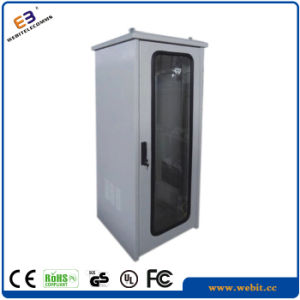 IP55 Glass Door Outdoor Cabinets Used for Telecom pictures & photos
