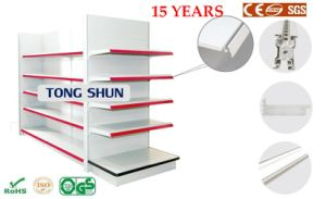 Hot Sales Supermarket Shelf with Layer Fence/Gondola Shelving pictures & photos