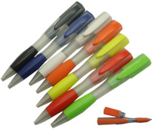 Colorful Logo Freely Pen Shape Cheap USB Pendrive (EP558) pictures & photos