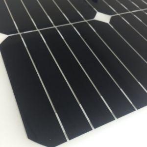 Thin Film Solar Panel Sunpower Cut 20.5V Flexible Solar Panel 20W pictures & photos