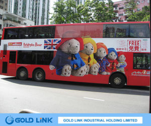 Adhesive PVC Film for Bus Advertising pictures & photos