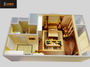 Architectural Scale Model Making, Internal Layout Model (JW-237) pictures & photos