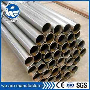 Low Carbon Welded Black Ms Mild Steel Pipe pictures & photos