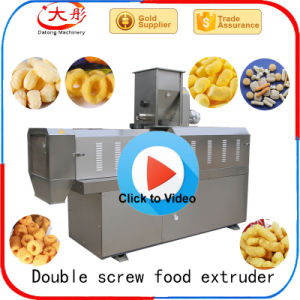 Corn Snack Food Machines Extruder (twin screw extruder) pictures & photos
