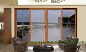 Hot Sell Aluminum Sliding Double Glazing Sliding Door pictures & photos