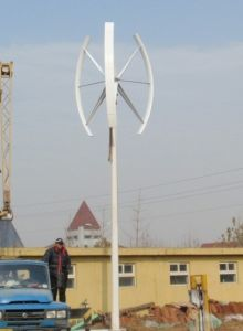 5kw Maglev Vertical Wind Turbine Generator pictures & photos