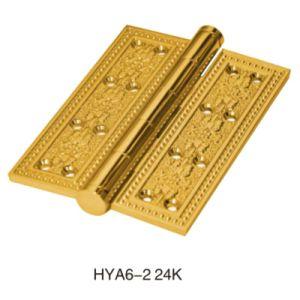 Luxury, Antique Security Stud Brass Door Hinge (HY A6-2 24K) pictures & photos