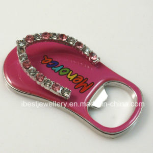 Promotion and Souvenirs- Slipper Shaped Bottle Opener and Fridge Magnet Muti-Functional Gift