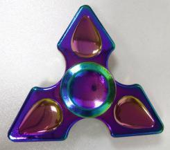 Three-Leaf Bright Fingertips Gyro Colour Hand Spinner Release Stress Toys pictures & photos