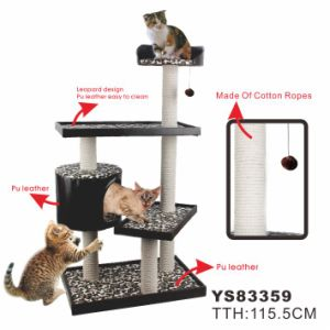 New Cat Furniture, Indoor Cat House Pet Toys (YS83359) pictures & photos