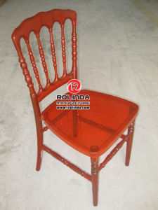 Polycarbonate Tiffany Chair Napolean Red pictures & photos