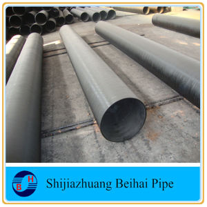 Black Steel ASTM A192 Seamless Pipe Sch120 pictures & photos