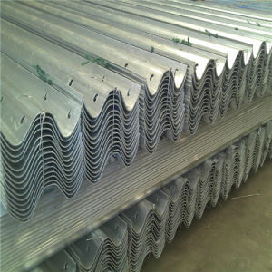 W Beam Hot Dipped Galvanized Highway Guardrail pictures & photos