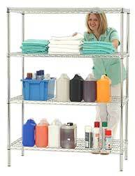 Adjustable Chrome Metal Hospital Pharmacy Shelves pictures & photos