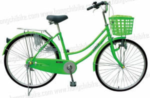 City Bike City Bicycle for Lady with Basket Rear Carrier Front Light (HC-TSL-LB-07752) pictures & photos