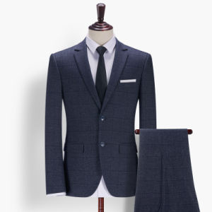 Custom Suit Deep Blue Color Men Formals Business Wear Suit pictures & photos
