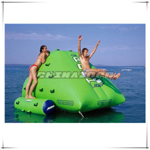 Fully Green Color Inflatable Water Iceberg Factory Price