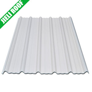 Raw White Color No Color Fading UPVC Roof Tile pictures & photos