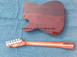 Ash Wood Body Maple Filling Body Center Layer Skunt Stripe Neck Back Tele Electric Guitar pictures & photos
