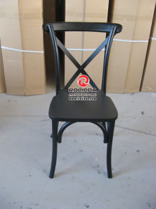 Stable Factory Price Cross Back Chair pictures & photos
