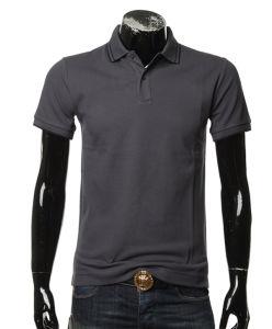 100 Cotton Pique Fabric Yarn-Dyed Collar Men Basic Style Men Polo Shirt pictures & photos