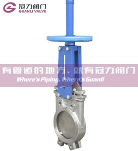 Stainless Steel DIN Knife Gate Valve pictures & photos