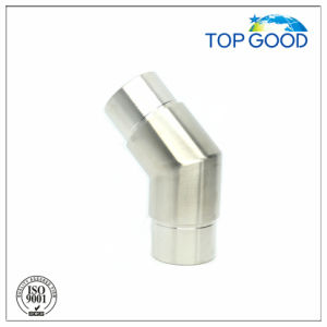 Stainless Steel 135 Degree Corner Elbow Tube Connector (52024) pictures & photos