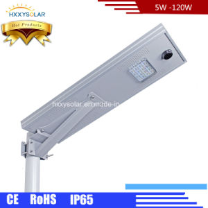 20W IP65 Outdoor Road Garden Integrated Solar LED Street Lamp pictures & photos