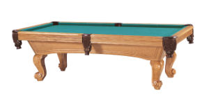Billiard Table in Oak