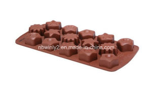 Mix Design Silicone Chocolate Mould pictures & photos