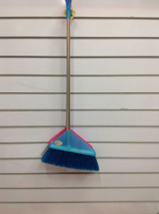 Colorful and Good Quality Plastic Broom (SQ-122) pictures & photos
