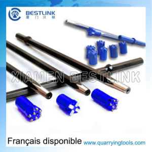 Hex22*108mm Taper Drill Steel Rod for Rock Drilling pictures & photos