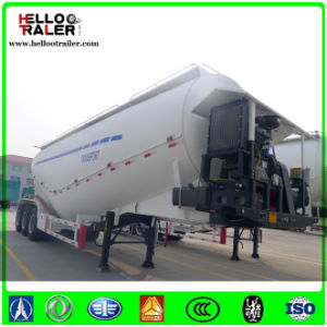 3 Axle 40cbm Bulk Cement Powder Tank Semi Trailer pictures & photos