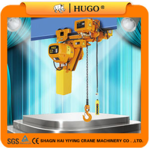 5 Ton Capacity Low Headroom Electric Chain Hoist with Load Limiter pictures & photos