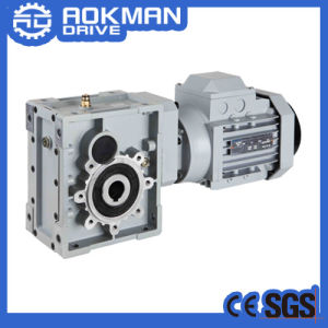 Helical-Hypoid Gearbox, Km Gear Motor pictures & photos