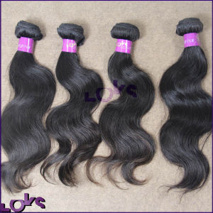 Top Grade 100% Virgin Unprocessed Peruvian Weaving Hair (LOKSHAIR18′′BW)