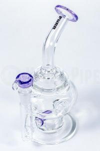 Swiss Egg Inline Perc Glass Water Pipe for Smoking pictures & photos